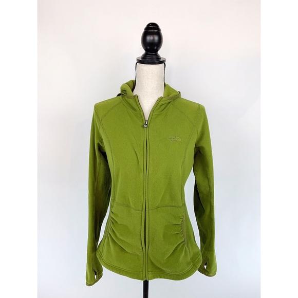 The North Face Jackets & Blazers - NORTH FACE Green TKA 100 Fleece Jacket Thumb Hole